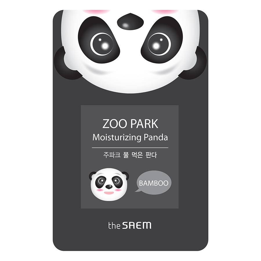 Mặt Nạ Giấy The Saem ZOO PARK Moisturing Panda - Bamboo (25ml) - 926712 , 8335208389230 , 62_2803629 , 100000 , Mat-Na-Giay-The-Saem-ZOO-PARK-Moisturing-Panda-Bamboo-25ml-62_2803629 , tiki.vn , Mặt Nạ Giấy The Saem ZOO PARK Moisturing Panda - Bamboo (25ml)