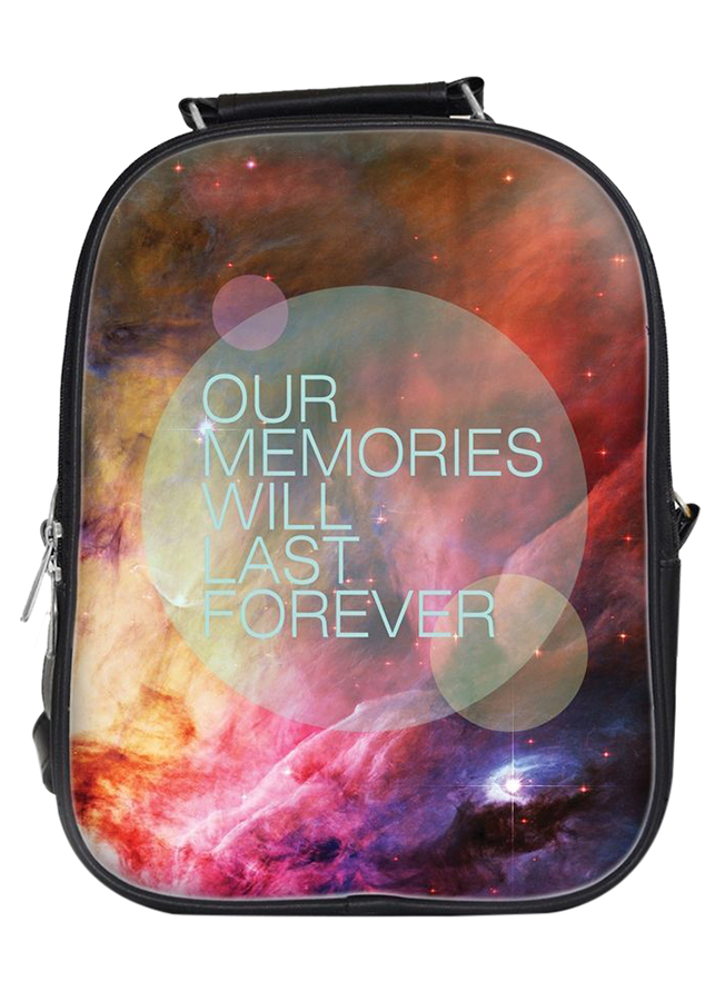 Balo Unisex In Hình Our Memories Will Last Forever - BLTE019