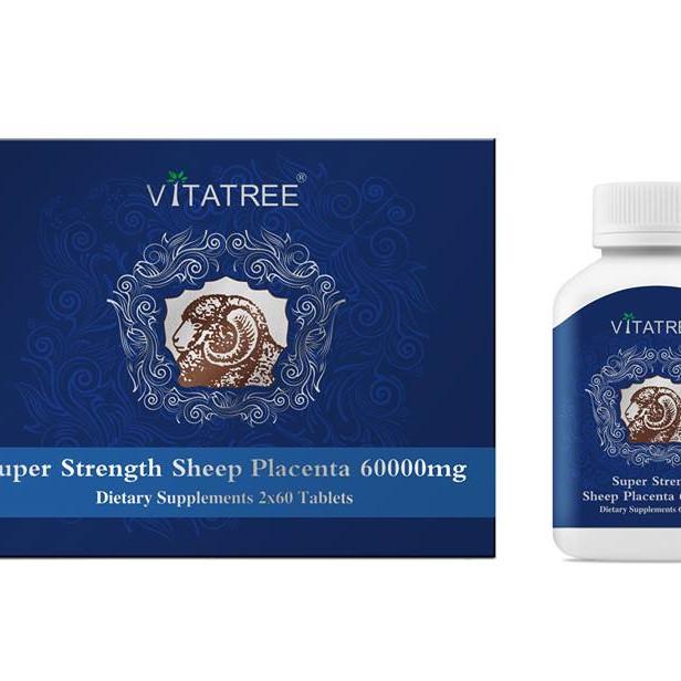 Viên uống Nhau thai cừu Vitatree Sheep Placenta 60.000mg - 7392011 , 3028853679980 , 62_15291113 , 1500000 , Vien-uong-Nhau-thai-cuu-Vitatree-Sheep-Placenta-60.000mg-62_15291113 , tiki.vn , Viên uống Nhau thai cừu Vitatree Sheep Placenta 60.000mg