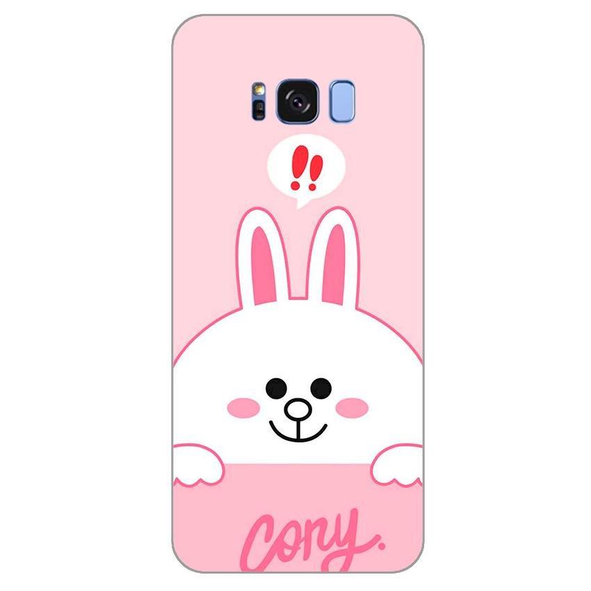 Ốp lưng dẻo cho Samsung Galaxy S8 _Thỏ Cony