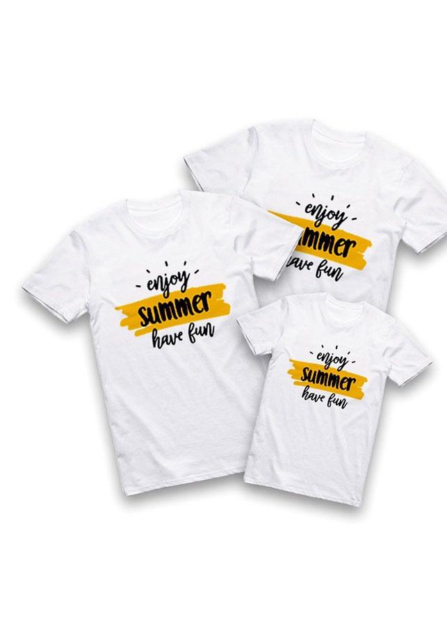 Áo thun trắng enjoy summer have fun CD09 - 9840014 , 8508593524030 , 62_17619447 , 300000 , Ao-thun-trang-enjoy-summer-have-fun-CD09-62_17619447 , tiki.vn , Áo thun trắng enjoy summer have fun CD09