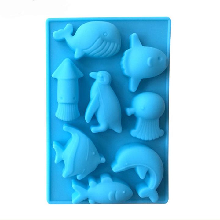 Khuôn silicon làm thạch rau câu, socola 8 động vật biển - 7324111 , 1723000600559 , 62_15089425 , 89000 , Khuon-silicon-lam-thach-rau-cau-socola-8-dong-vat-bien-62_15089425 , tiki.vn , Khuôn silicon làm thạch rau câu, socola 8 động vật biển