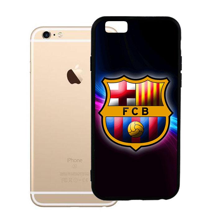 Ốp lưng viền TPU cao cấp dành cho iPhone 6 Plus - Clb Barcelona