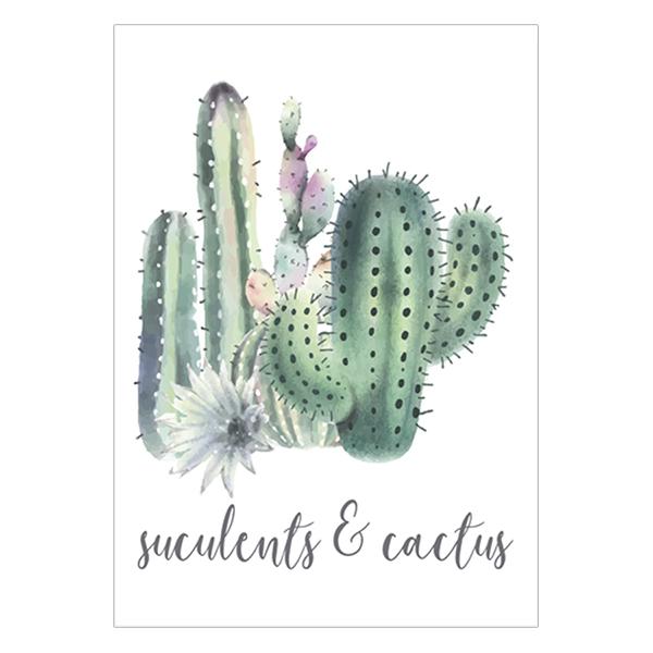 Tranh Canvas Cactus  Sculents-Xương Rồng 1T4060-32