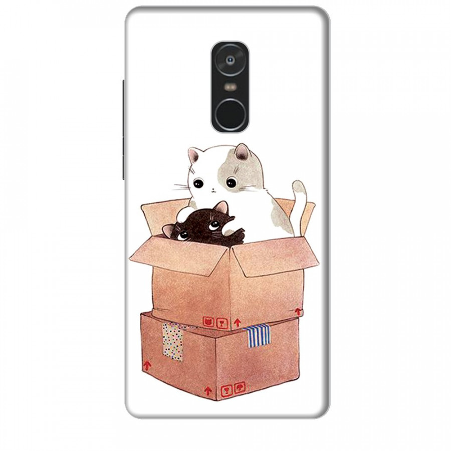 Ốp lưng dành cho điện thoại XIAOMI NOTE 4 Mèo Con Dễ Thương