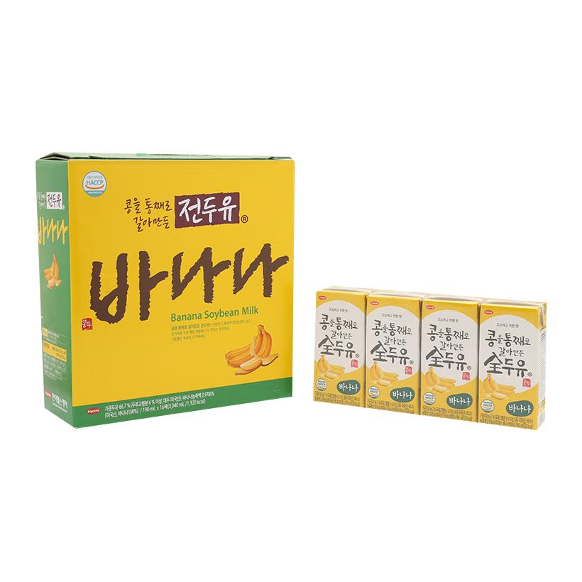 Xách 16 Hộp Sữa Chuối Hàn Quốc VKmilk