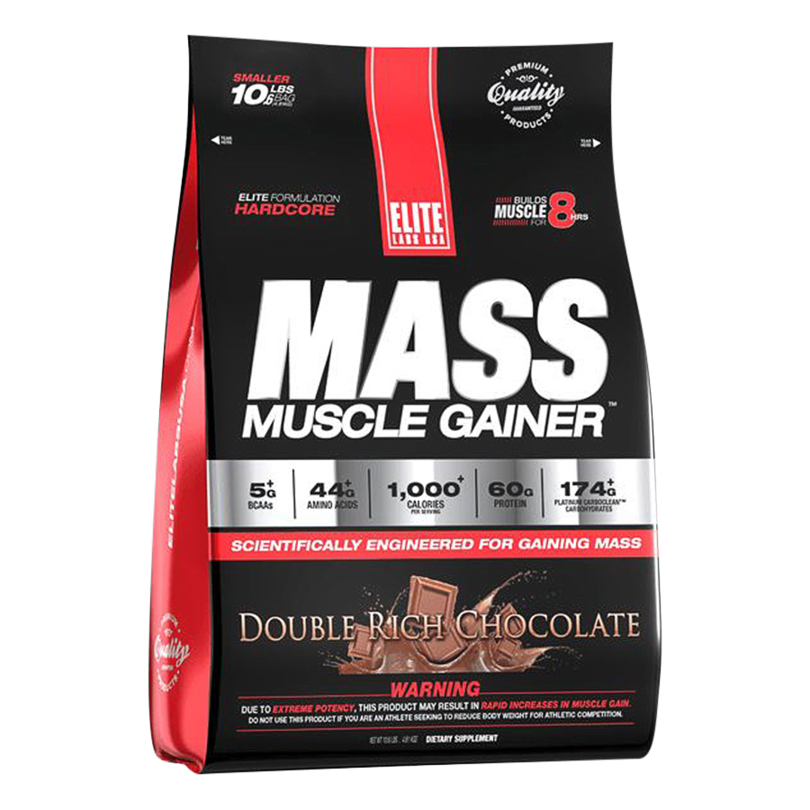 Sữa Tăng Cân Vị Chocolate Mass Muscle Gainer Elite Labs SMEL935 (4.62kg) - 9437123 , 9535066733216 , 62_16324387 , 2050000 , Sua-Tang-Can-Vi-Chocolate-Mass-Muscle-Gainer-Elite-Labs-SMEL935-4.62kg-62_16324387 , tiki.vn , Sữa Tăng Cân Vị Chocolate Mass Muscle Gainer Elite Labs SMEL935 (4.62kg)