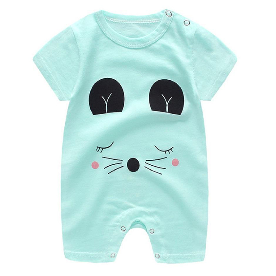 Newborn Infant Baby Boy Girl Cartoon Printing Short Sleeve Romper Bodysuit - 9867825 , 4031714826286 , 62_19363556 , 121000 , Newborn-Infant-Baby-Boy-Girl-Cartoon-Printing-Short-Sleeve-Romper-Bodysuit-62_19363556 , tiki.vn , Newborn Infant Baby Boy Girl Cartoon Printing Short Sleeve Romper Bodysuit