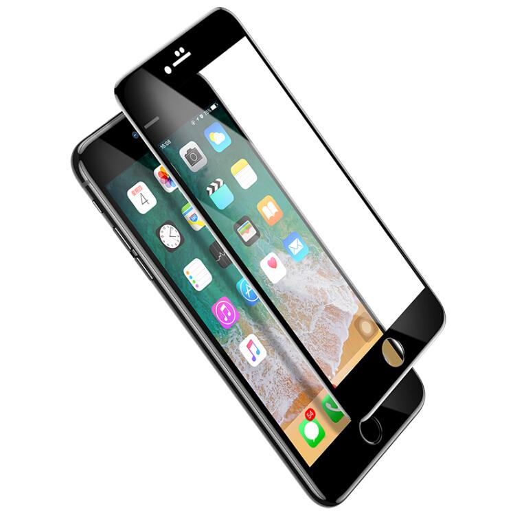 Kính Cường Lực 6D Cong Toàn Màn Hình Cho Iphone 7/8 Baseus