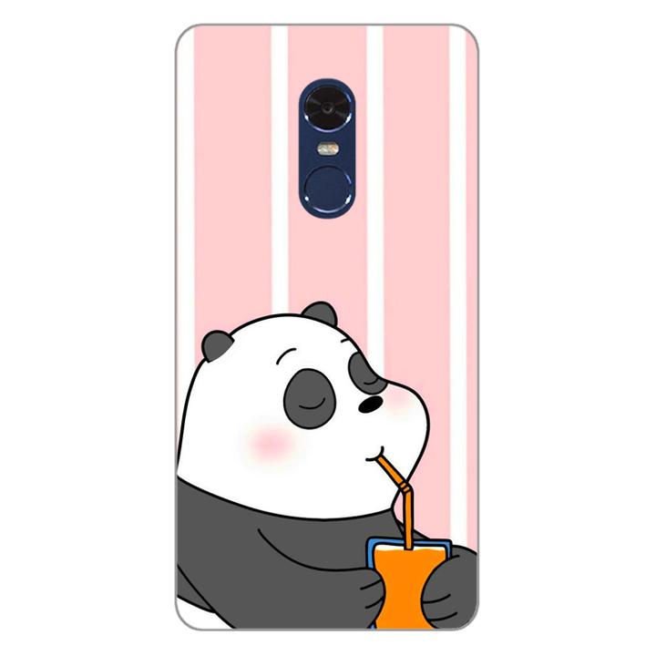 Ốp lưng dẻo Nettacase cho điện thoại Xiaomi Redmi Note 4 _0399 PANDA06 - Hàng Chính Hãng