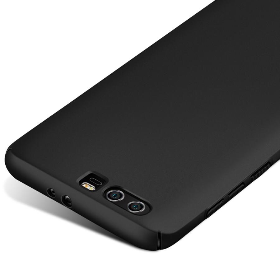 Ốp Nhựa Cứng Cho Huawei Honor 9 Freeson - Đen Trơn