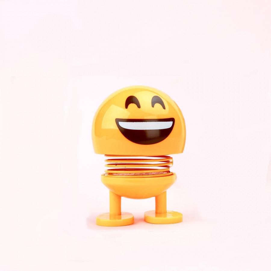 Mặt cười gắn lò xo nhún nhảy vui nhộn - trang trí taplo xe hơi (ô tô)