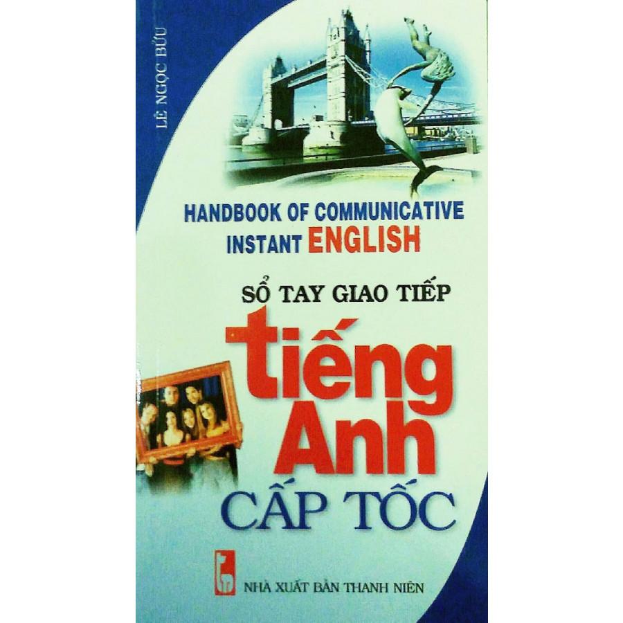 Sổ Tay Tự Học Tiếng Anh Cấp Tốc (Kèm CD)