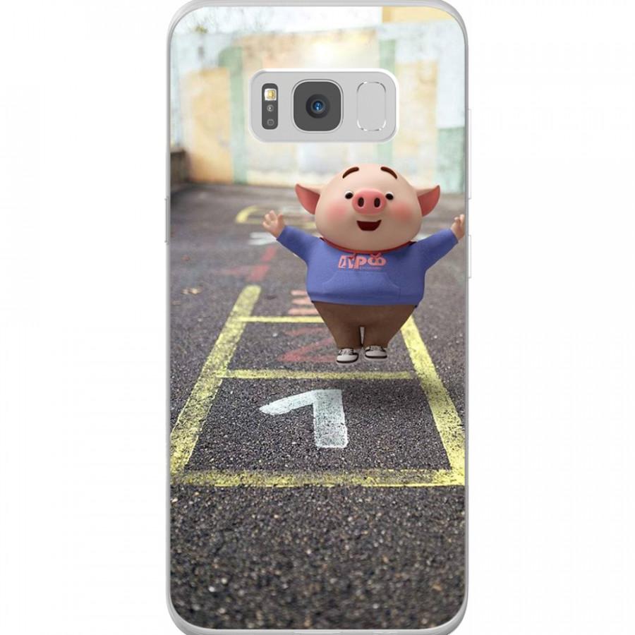Ốp Lưng Cho Điện Thoại Samsung Galaxy S8 Plus - Mẫu aheocon 139
