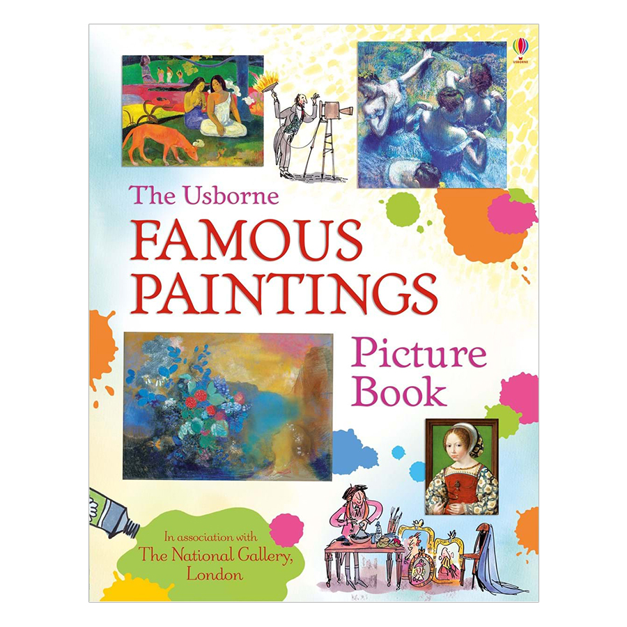 Usborne Famous Paintings Picture Book