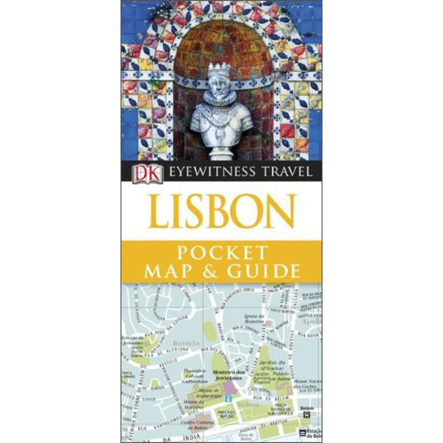 Lisbon (DK Eyewitness Pocket Map  Guide)