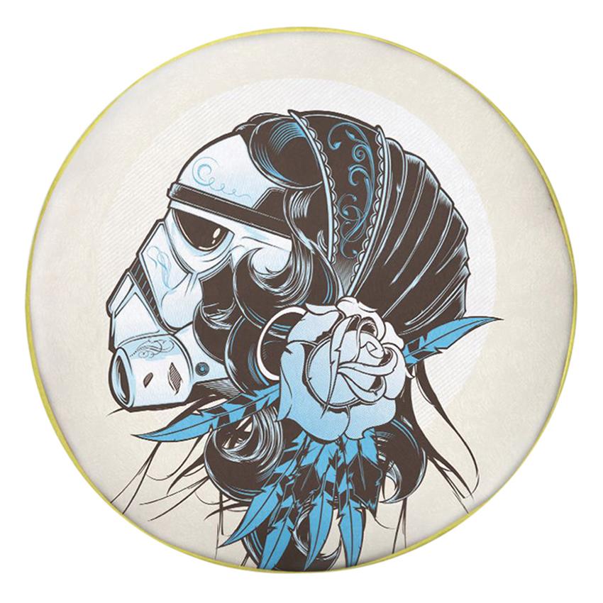 Gối Ôm Tròn Cô Gái Darth Vader - GOAT074