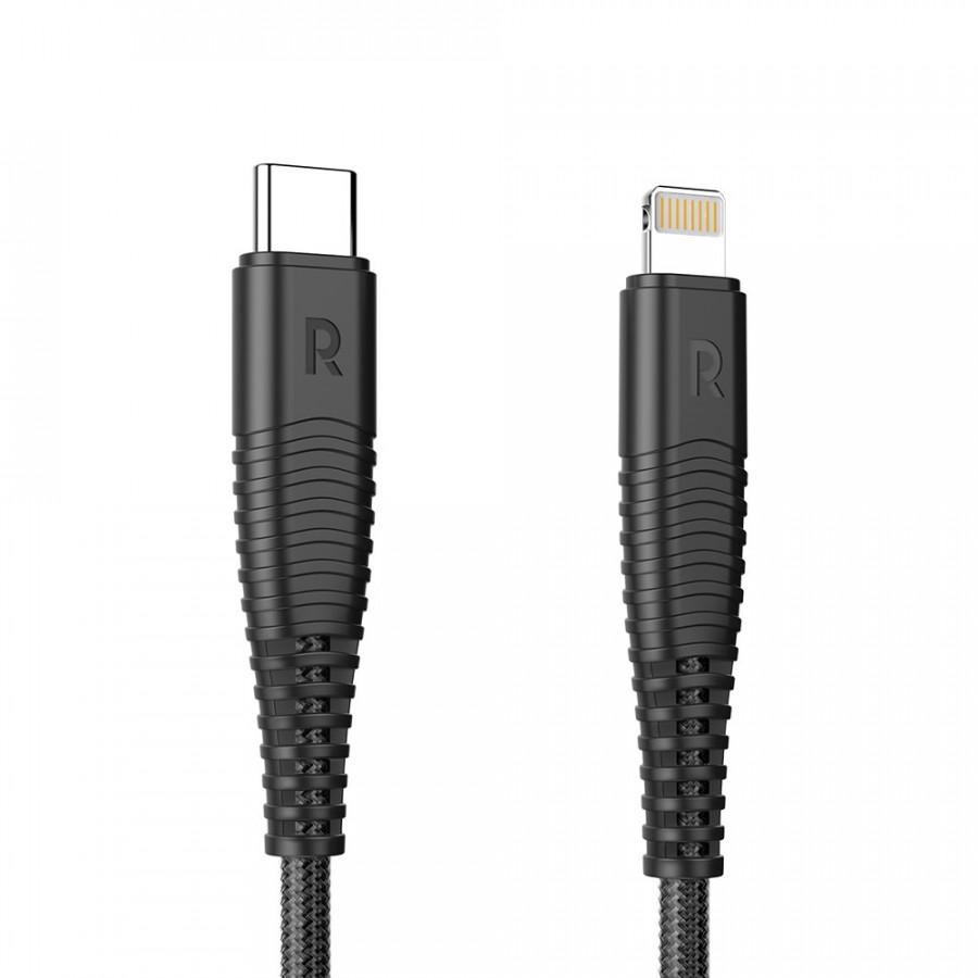Cáp sạc USB-C to Lightning PD RAVPower RP-CBO2O (1m) - Hàng Nhập Khẩu