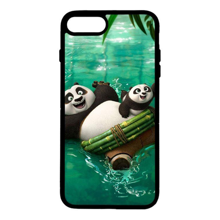 Ốp lưng dành cho điện thoại Iphone 7 Plus PANDA Bơi