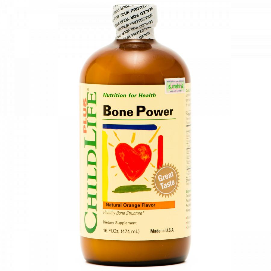 ChildLife Plus Bone Power - Giúp xương chắc khoẻ - Cao hơn mỗi ngày