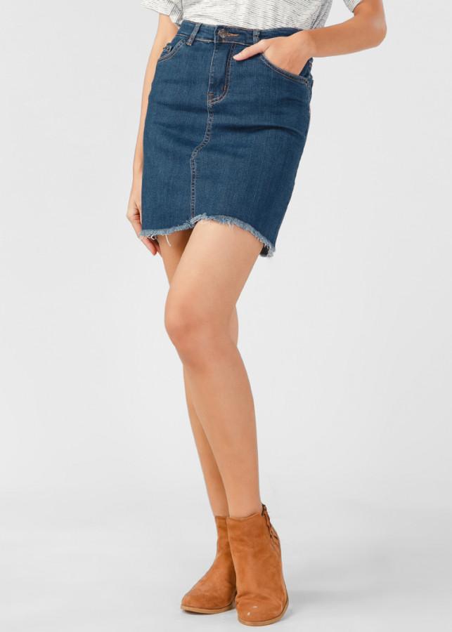 Váy Jeans Nữ PAPKA Tua Lai 4006 - 1040013 , 6920709685053 , 62_6282531 , 349000 , Vay-Jeans-Nu-PAPKA-Tua-Lai-4006-62_6282531 , tiki.vn , Váy Jeans Nữ PAPKA Tua Lai 4006