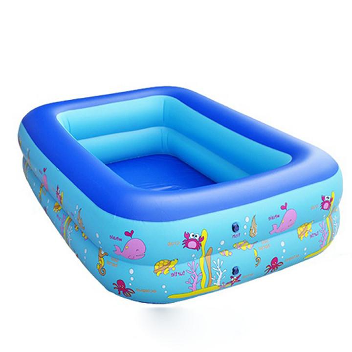 Bể Bơi Phao 210cm*145cm*65 Bể Phao Bơi Cho Bé
