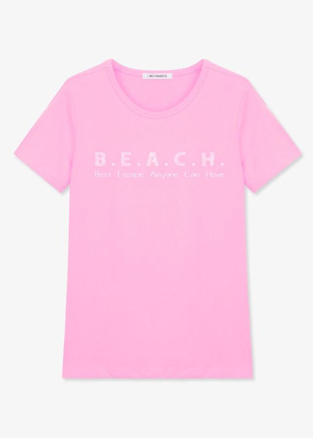 Áo Tay Ngắn Nữ LimeOrange T-shirt -LO19161123