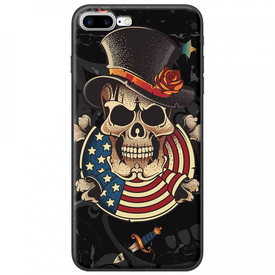 Ốp lưng dành cho iPhone 7 Plus mẫu Đầu lâu nón - 9554751 , 8861654603496 , 62_19416591 , 150000 , Op-lung-danh-cho-iPhone-7-Plus-mau-Dau-lau-non-62_19416591 , tiki.vn , Ốp lưng dành cho iPhone 7 Plus mẫu Đầu lâu nón