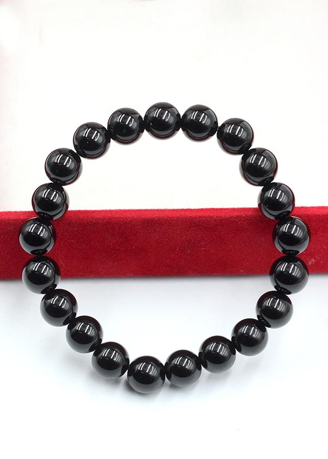 Vòng Tay Phong Thủy Obsidian 8MM