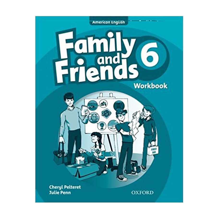 Family And Friends (Ame) 6 Workbook