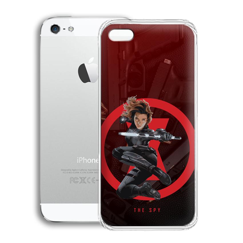 Ốp lưng cho điện thoại Apple Iphone 5 - 01010 0538 SPY01 - Silicone dẻo - Hàng Chính Hãng