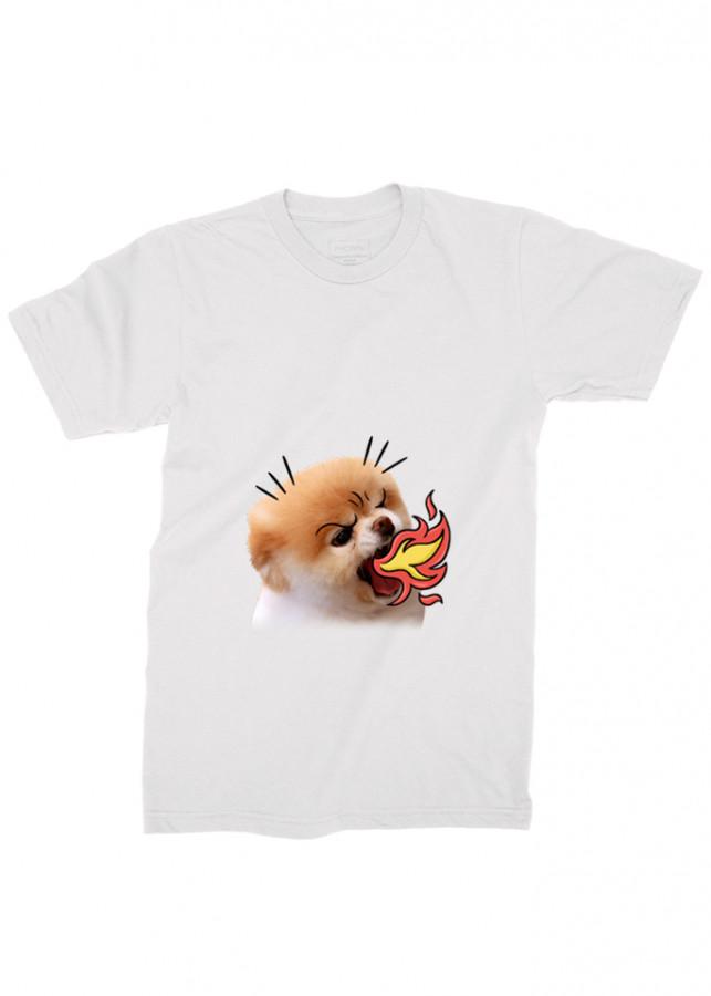 áo thun nam chó con đáng yêu ad4