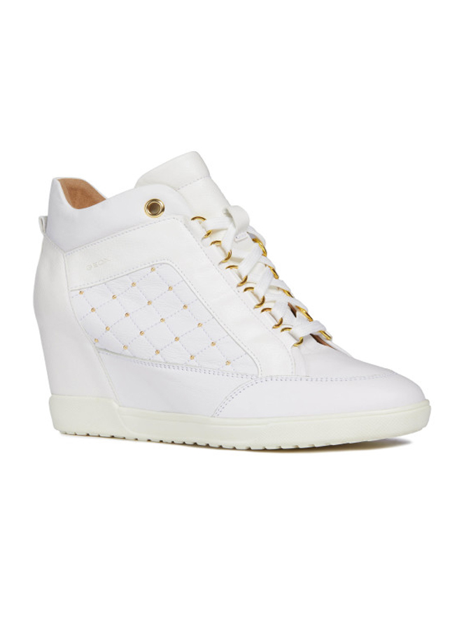 Giày Sneakers GEOX D CARUM C WHITE