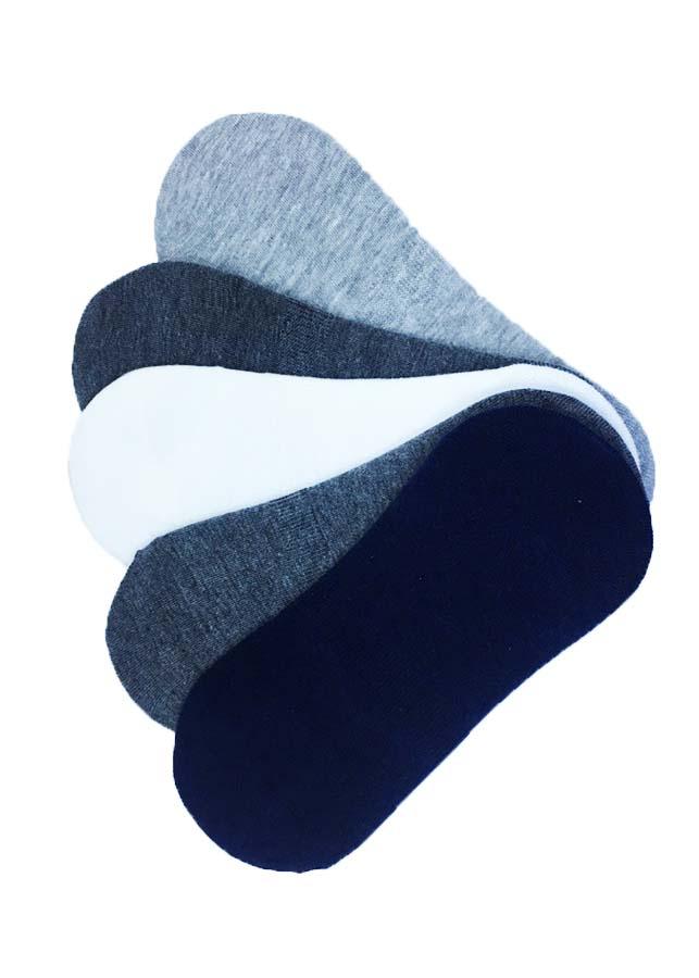 Combo 5 đôi tất lười nam Hàn Quốc
