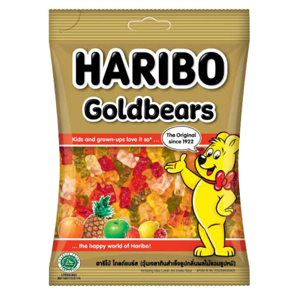 Kẹo Dẻo Haribo Goldbears (80g)