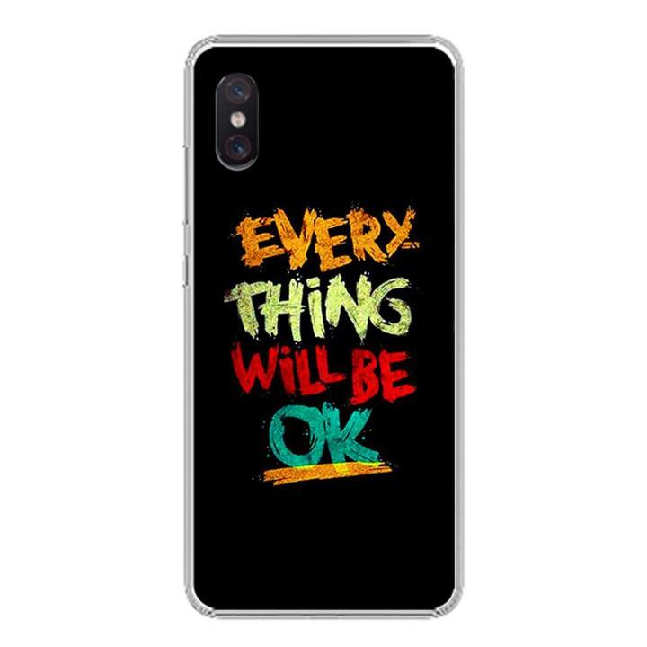 Ốp lưng cho Xiaomi Mi 8 Pro - 0198 EVERYTHINGOK - Silicone dẻo - Hàng Chính Hãng