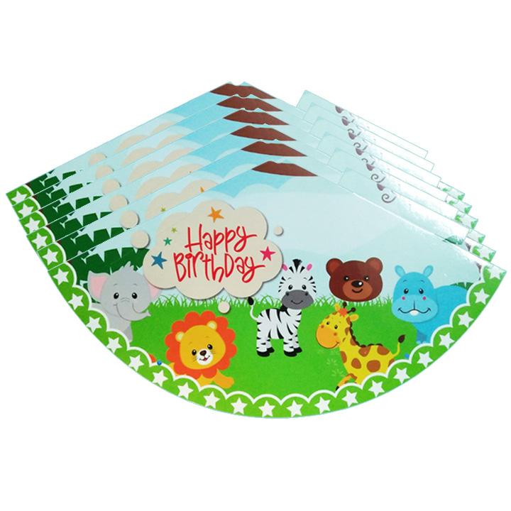 6 nón sinh nhật hình thú rừng dễ thương