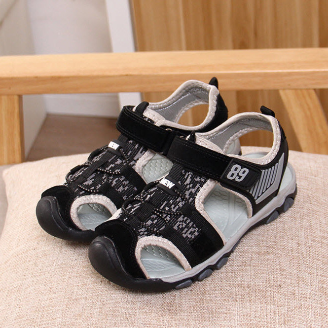 Sandal bít mũi vải mềm -TTMS1265