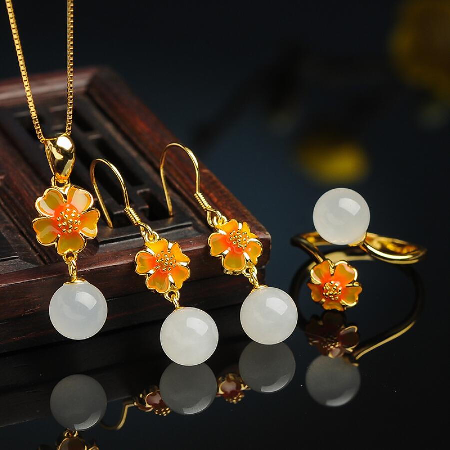 Bông Tai Ngọc Bích Jade Jewelry