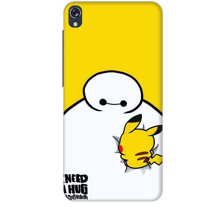 Ốp lưng dành cho điện thoại ZENFONE LIVE hinh Big Hero Pikachu