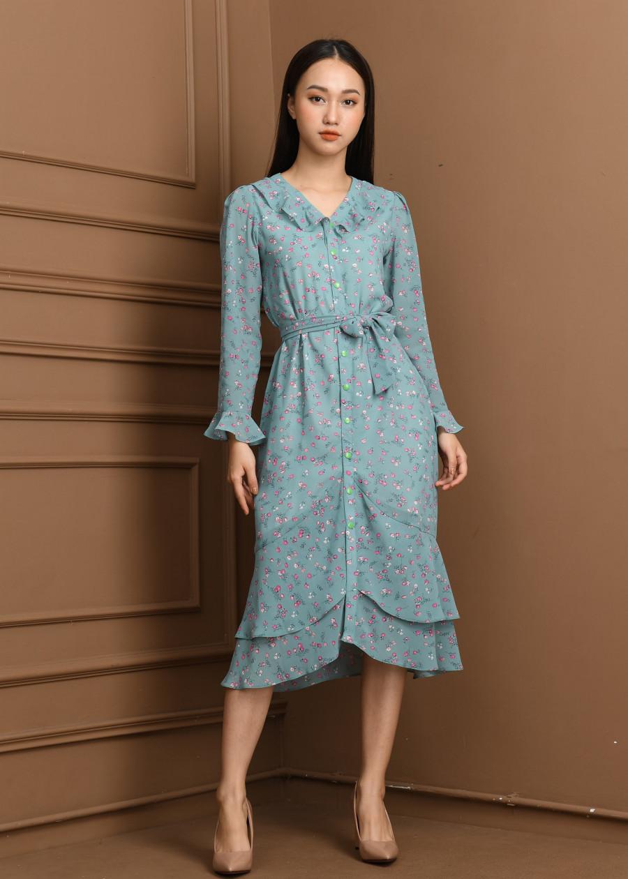 Váy voan nhật  VF2019015