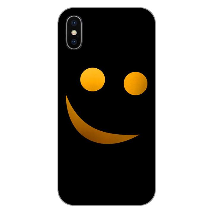Ốp lưng dẻo cho điện thoại Iphone XS_Smile 03