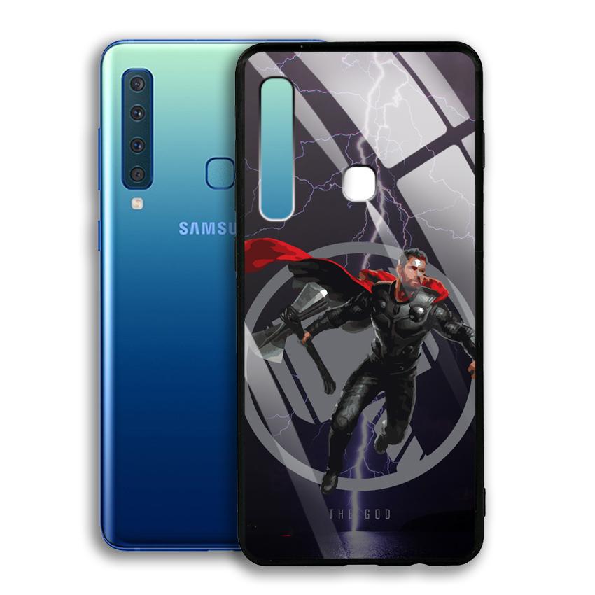 Ốp Lưng Kính Cường Lực cho điện thoại Samsung Galaxy A9 2018 - 03013 0540 GOD01 - Hàng Chính Hãng