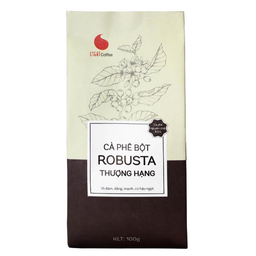 Cà Phê Nguyên chất 100% Robusta thượng Hạng - Light Coffee (100g) - 1036834 , 9407165955519 , 62_3104143 , 75000 , Ca-Phe-Nguyen-chat-100Phan-Tram-Robusta-thuong-Hang-Light-Coffee-100g-62_3104143 , tiki.vn , Cà Phê Nguyên chất 100% Robusta thượng Hạng - Light Coffee (100g)