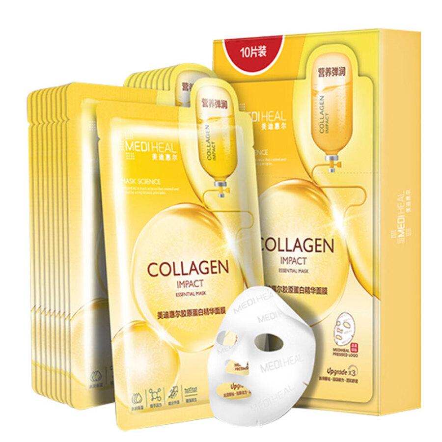Hộp 10 Mặt Nạ Collagen Mediheal