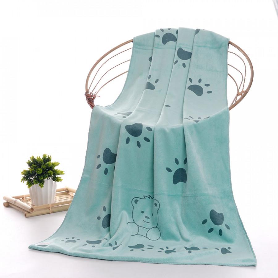 Handkerchief Baby Bath Towel Cute Microfiber 3 Color Bathroom Shower Product
