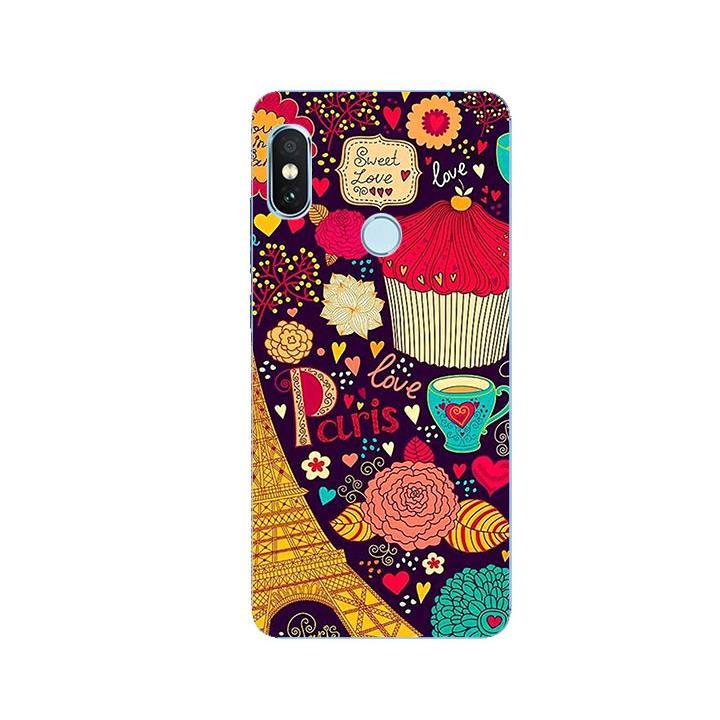Ốp Lưng Dẻo Cho Điện thoại Xiaomi Redmi Note 5 - Paris 04