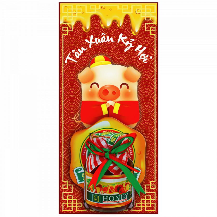 """Mật ong rừng nguyên chất 100% - Món quà sức khỏe Xuân Kỷ Hợi - Collection """"Kỷ Hợi"""" - 794084 , 7259589334713 , 62_9667179 , 800000 , Mat-ong-rung-nguyen-chat-100Phan-Tram-Mon-qua-suc-khoe-Xuan-Ky-Hoi-Collection-Ky-Hoi-62_9667179 , tiki.vn , Mật ong rừng nguyên chất 100% - Món quà sức khỏe Xuân Kỷ Hợi - Collection """"Kỷ Hợi"""""""