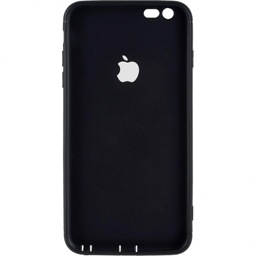 Ốp lưng dẻo viền bóng Genshai Dành Cho iphone 6 plus GC02 màu đen
