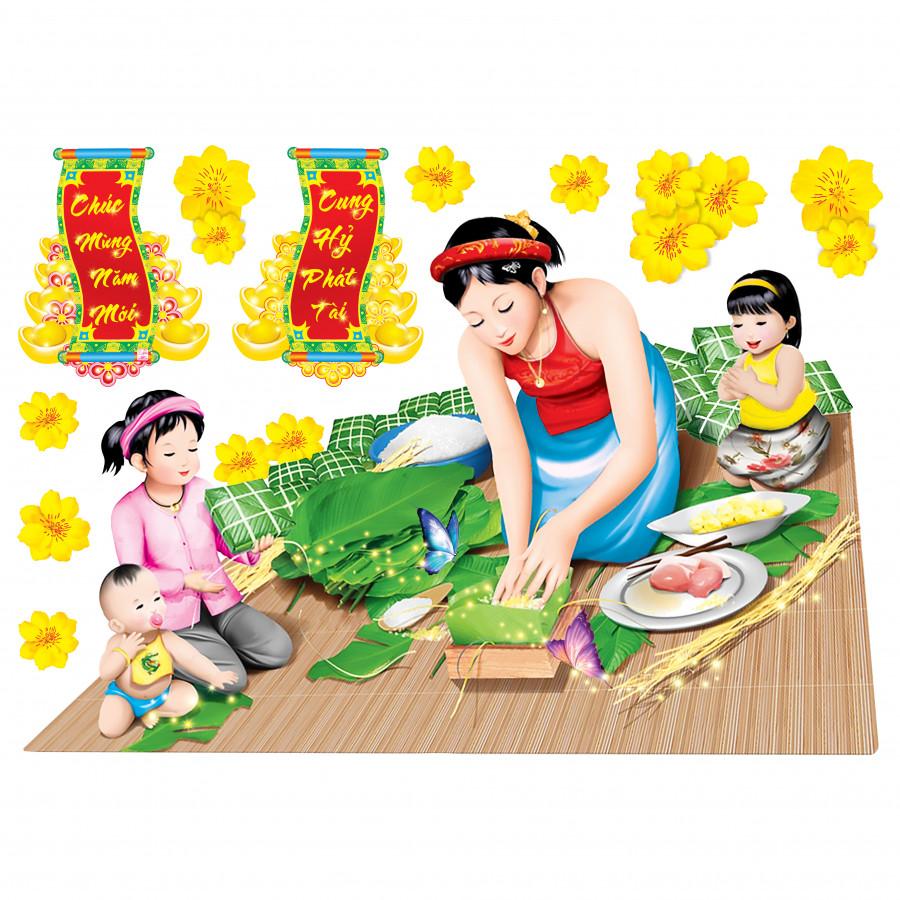 Decal 3D (sticker) dán kính trang trí Tết (mẫu Gói bánh chưng) - 766489 , 7384128535679 , 62_9731428 , 150000 , Decal-3D-sticker-dan-kinh-trang-tri-Tet-mau-Goi-banh-chung-62_9731428 , tiki.vn , Decal 3D (sticker) dán kính trang trí Tết (mẫu Gói bánh chưng)